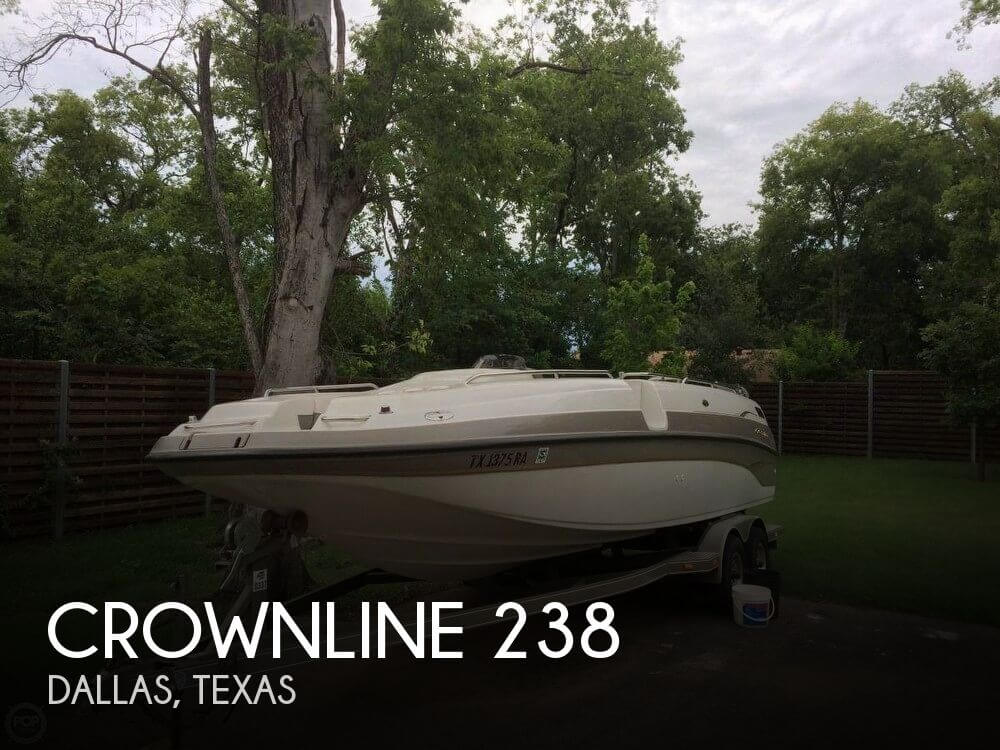 Used Crownline Deck Boats For Sale by owner | 2001 Crownline 27