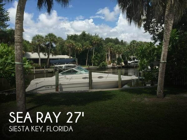 Used Sea Ray 27 Boats For Sale by owner | 1998 Sea Ray 270 Sundancer