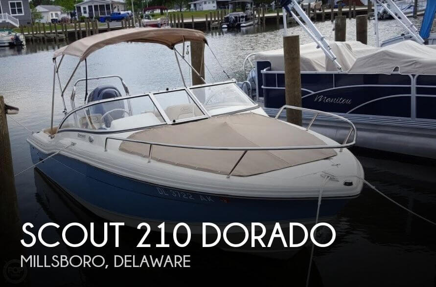 Used Boats For Sale in Atlantic City, New Jersey by owner | 2015 Scout 210 Dorado