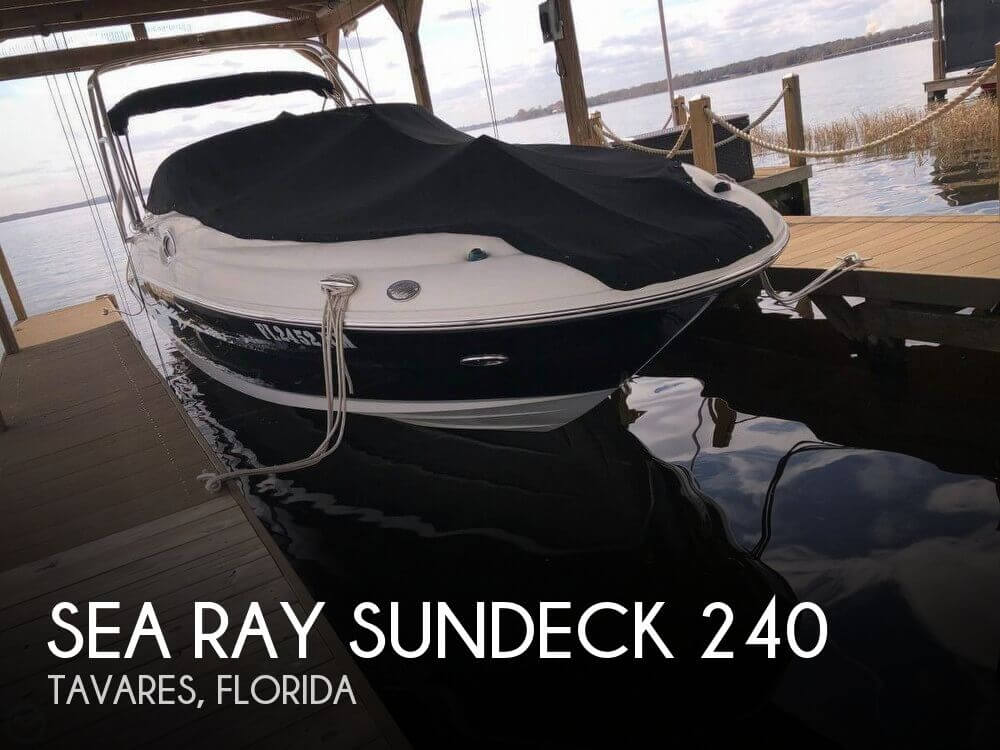 Used Deck Boats For Sale in Florida by owner | 2007 Sundeck 26