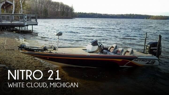 Used Boats For Sale in Grand Rapids, Michigan by owner | 2012 Nitro 21