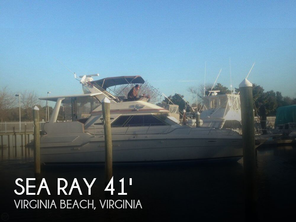 Used Sea Ray 41 Boats For Sale by owner | 1987 Sea Ray 41