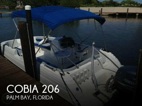 Used Deck Boats For Sale by owner | 2001 Cobia 206