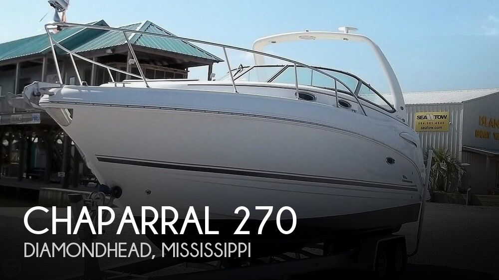 Used Chaparral Signature 270 Boats For Sale by owner | 2003 Chaparral Signature 270
