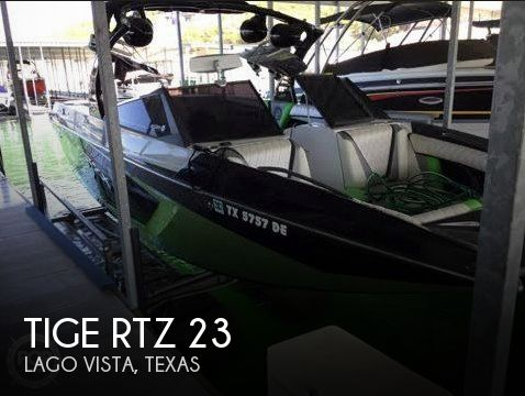 Used Boats For Sale in Killeen, Texas by owner | 2016 Tige RTZ 23