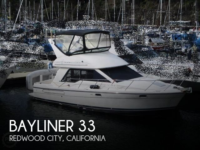 Used Boats For Sale in Santa Cruz, California by owner | 1999 Bayliner 33
