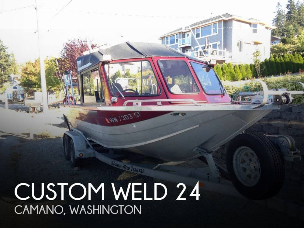Used Fishing boats For Sale in Washington by owner | 2004 Custom Weld 24