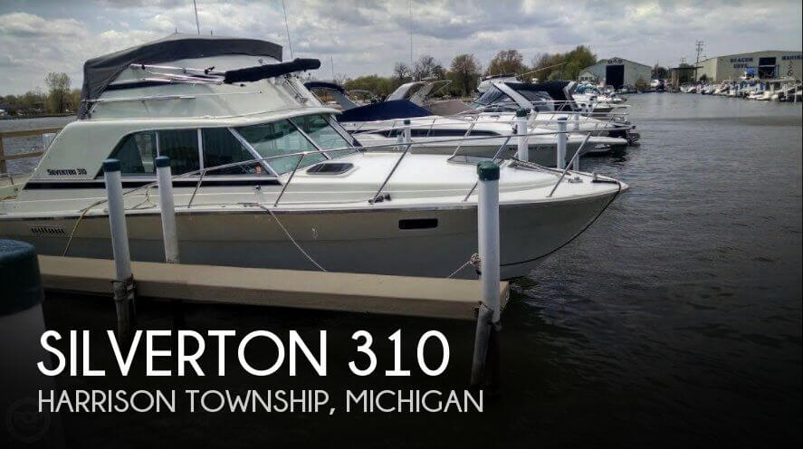 Used Silverton Boats For Sale in Michigan by owner | 1977 Silverton 31