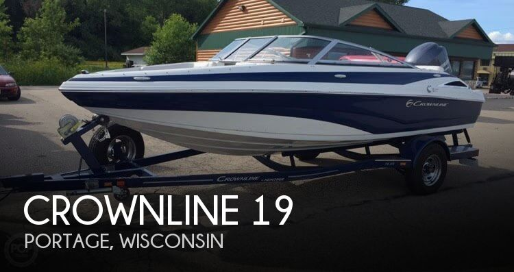 Used Boats For Sale in Madison, Wisconsin by owner   2013 Crownline 19