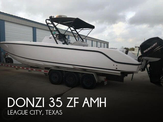 Used Boats For Sale in Houston, Texas by owner | 2007 Donzi 35