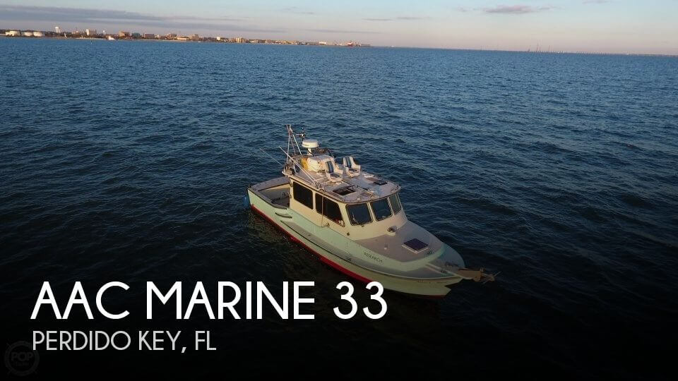 Used Boats For Sale in Pensacola, Florida by owner | 2012 AAC Marine 33