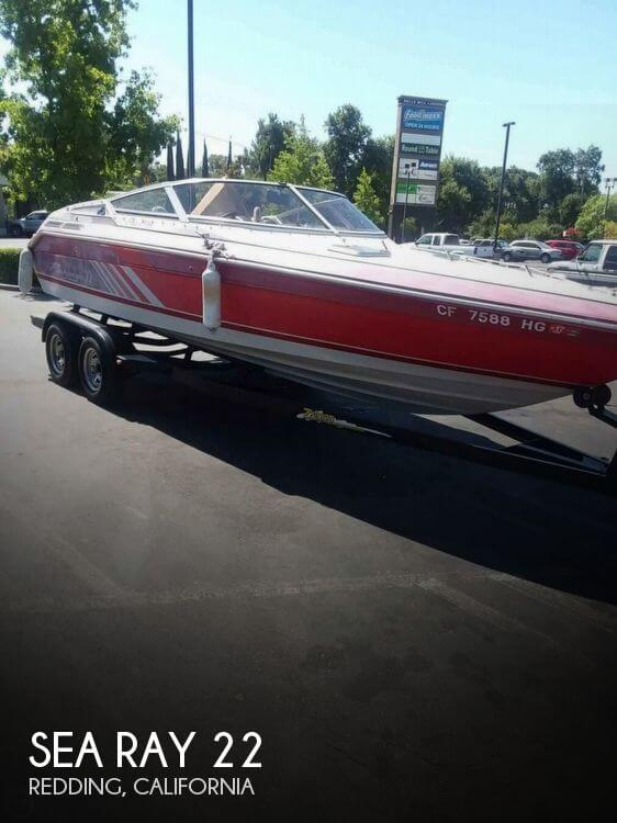 Used Sea Ray 22 Boats For Sale in California by owner   1988 Sea Ray 22