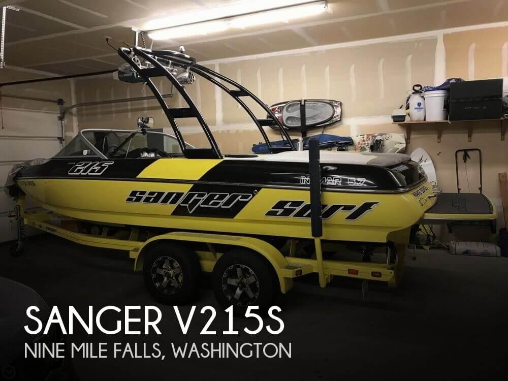 Used Ski Boats For Sale in Washington by owner | 2014 Sanger 22