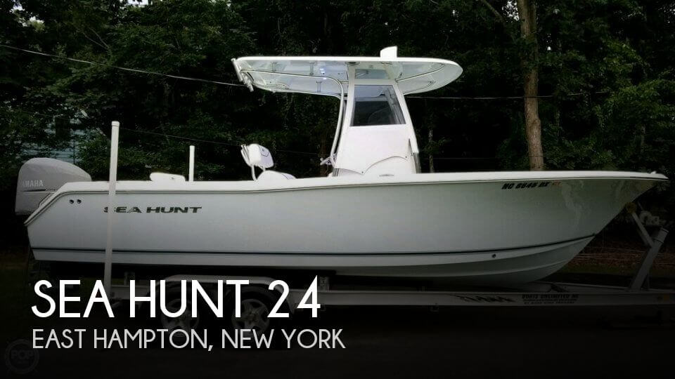 Used Boats For Sale in Providence, Rhode Island by owner | 2013 Sea Hunt 24