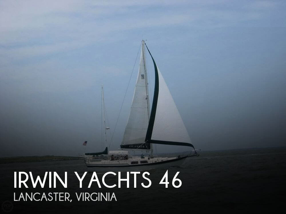 Used Boats For Sale in Richmond, Virginia by owner | 1980 Irwin Yachts 46