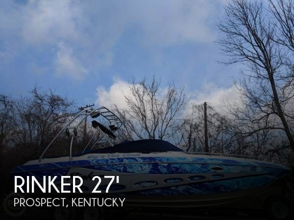 Used Boats For Sale in Cincinnati, Ohio by owner | 2000 Rinker 27