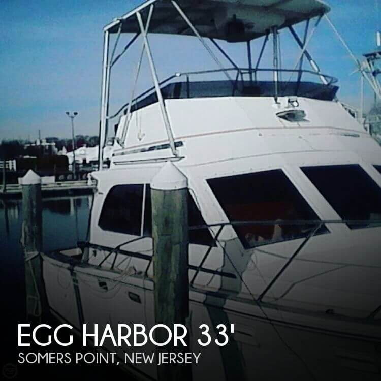 Used Egg Harbor Boats For Sale by owner | 1984 Egg Harbor 33