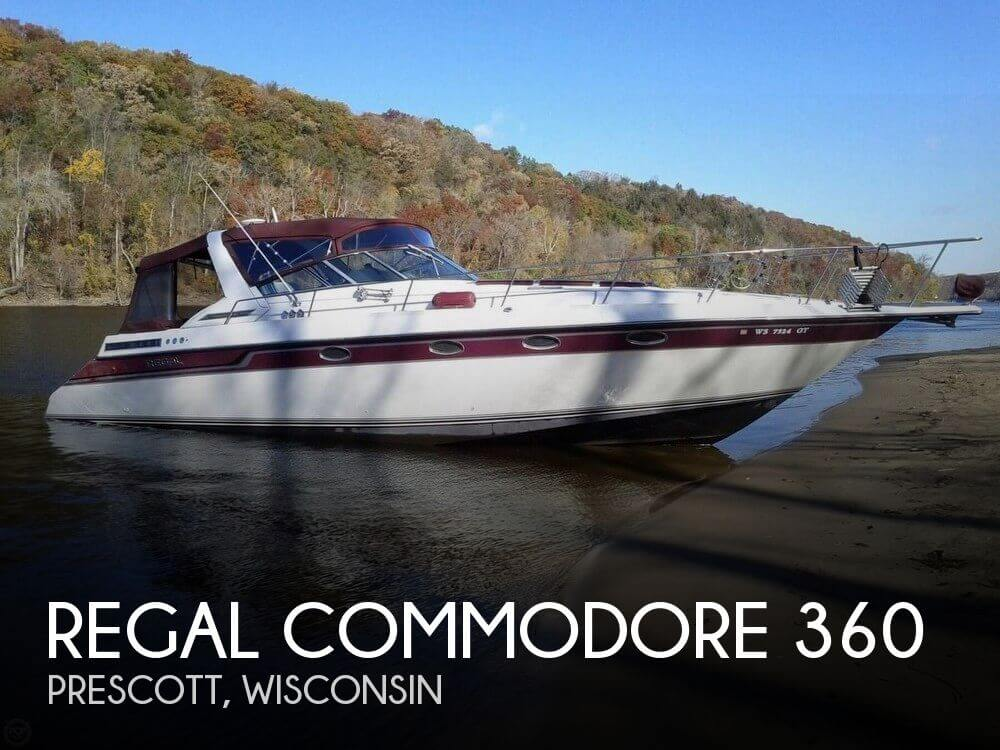 Used Boats For Sale in Minneapolis, Minnesota by owner | 1990 Regal 36