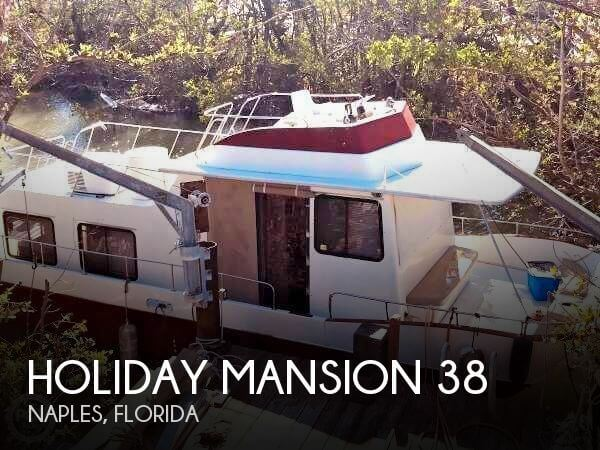 Used Houseboats For Sale in Florida by owner | 1984 Holiday Mansion 38