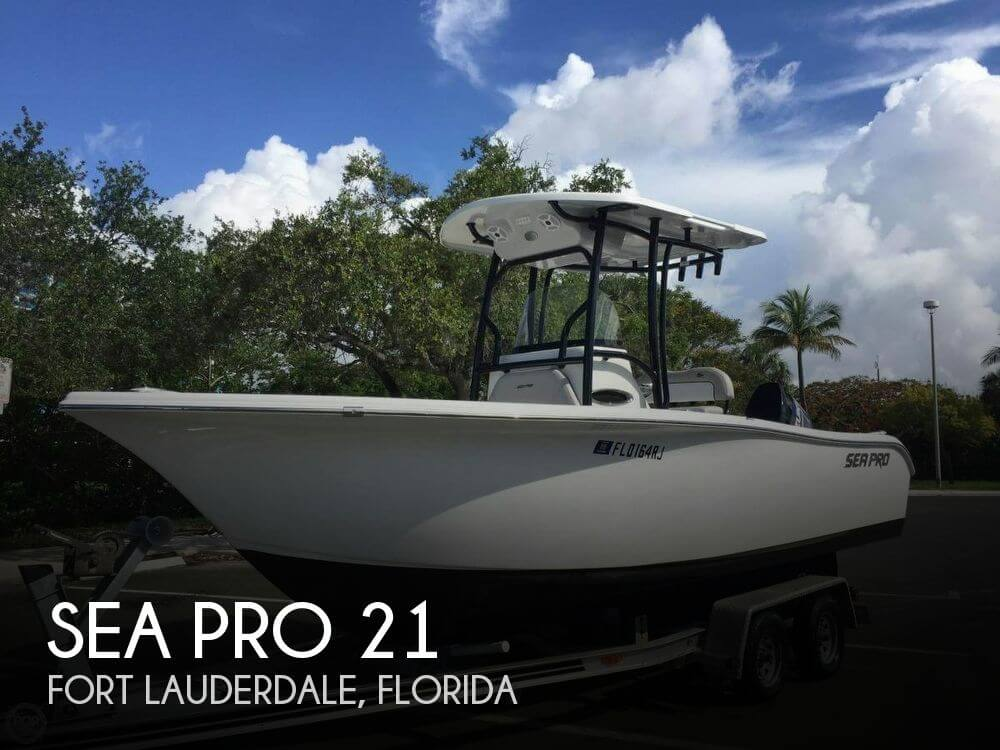 Used Sea Pro Boats For Sale by owner | 2017 Sea Pro 21