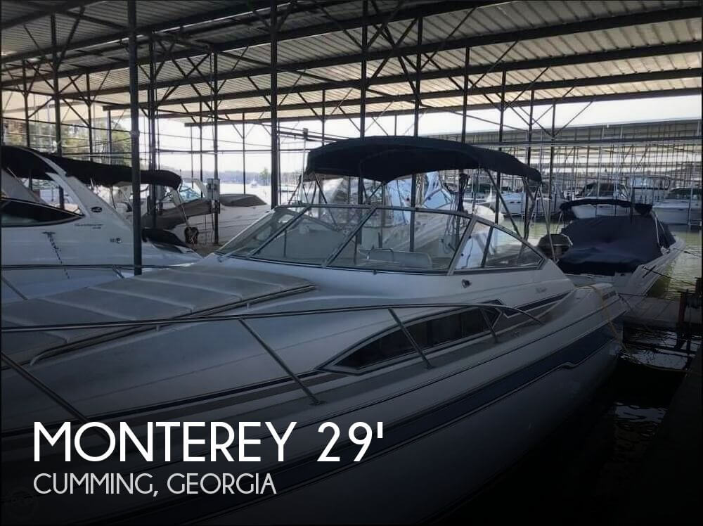 Used Monterey Boats For Sale in Georgia by owner | 1995 Monterey 29