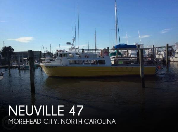 Used Boats For Sale in North Carolina by owner | 1975 Neuville 47