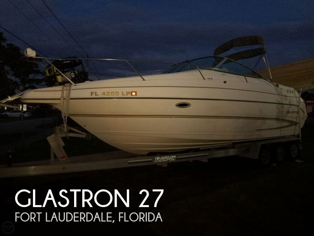 Used Glastron Boats For Sale by owner | 2001 Glastron 27