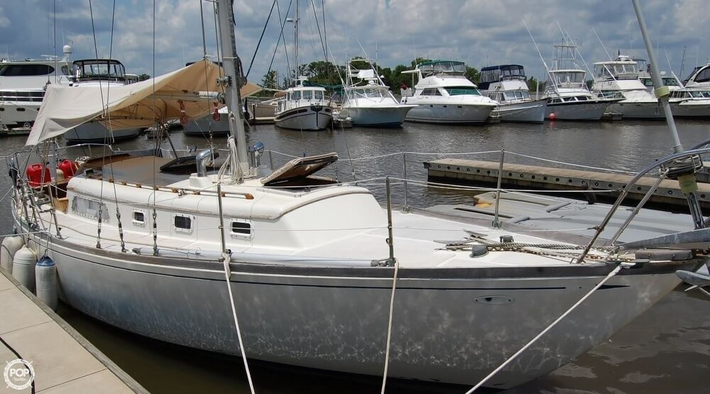 1969 Cheoy Lee boat for sale, model of the boat is 36 Luders & Image # 6 of 25