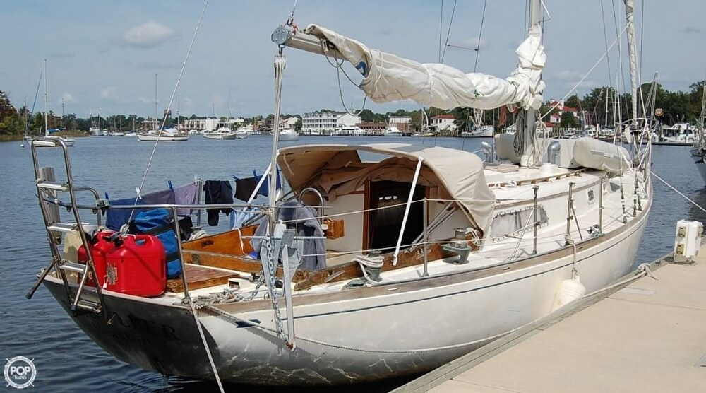 1969 Cheoy Lee boat for sale, model of the boat is 36 Luders & Image # 4 of 25