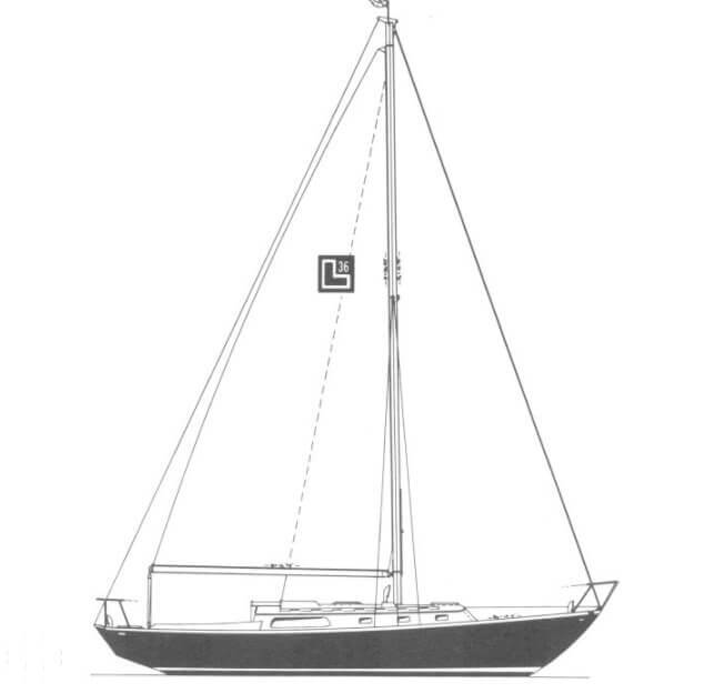 1969 Cheoy Lee boat for sale, model of the boat is 36 Luders & Image # 24 of 25