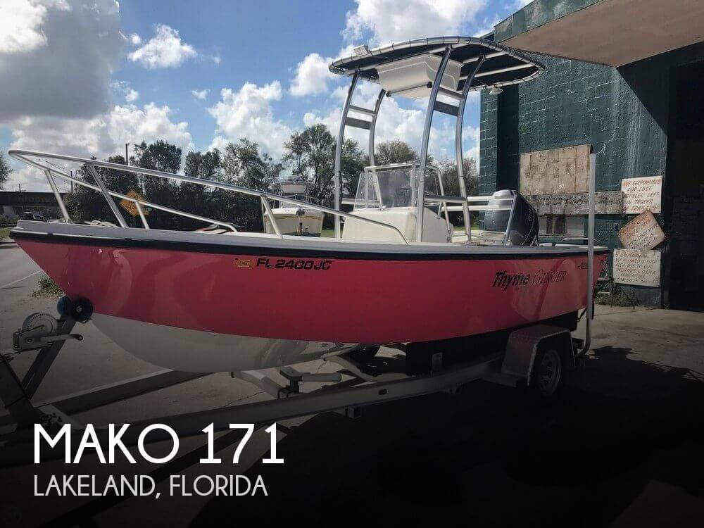 Used MAKO 17 Boats For Sale by owner | 1993 Mako 171