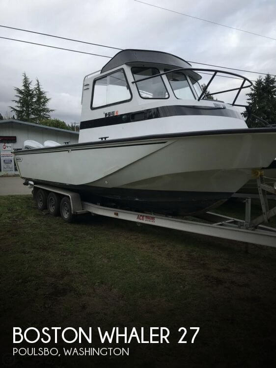 Used Boston Whaler Boats For Sale in Washington by owner | 1988 Boston Whaler 27