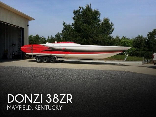 Used Boats For Sale in Kentucky by owner | 2006 Donzi 38