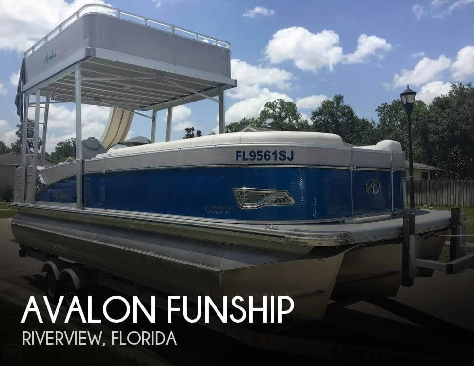 Used Pontoon Boats For Sale by owner | 2016 Avalon 25