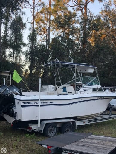 1988 Grady-white Seafarer 22 With T-top