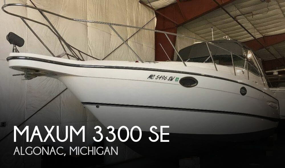 Used Power boats For Sale in Michigan by owner | 2006 Maxum 36