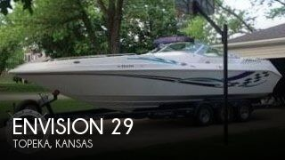 Used Boats For Sale in Kansas by owner | 2004 Envision 29