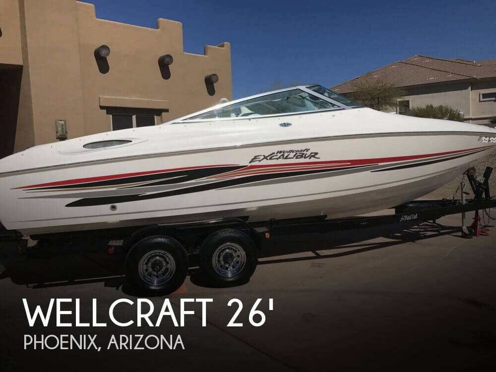 Used Wellcraft 26 Boats For Sale by owner | 2001 Wellcraft Excalibur 26