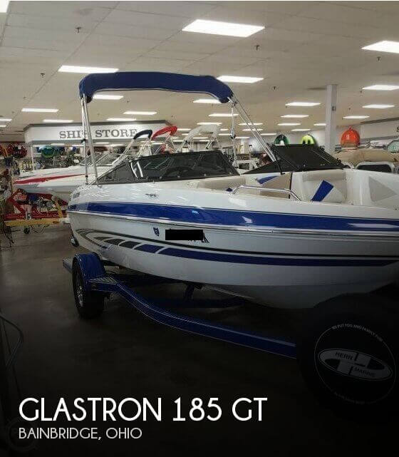 Used Boats For Sale in Columbus, Ohio by owner | 2008 Glastron 185 GT