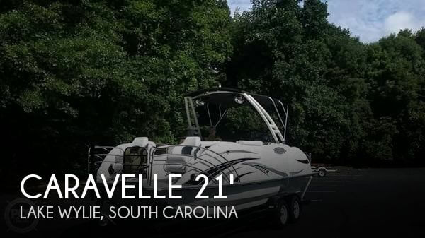 Used Pontoon Boats For Sale by owner | 2017 Caravelle 23