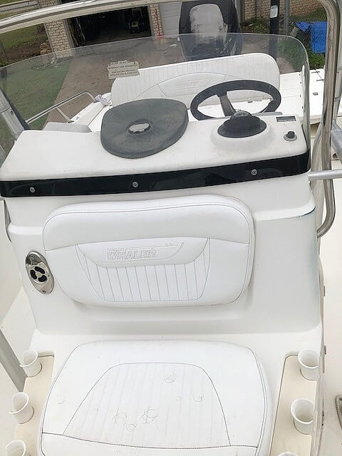 2008 Boston Whaler boat for sale, model of the boat is 180 Dauntless & Image # 11 of 26