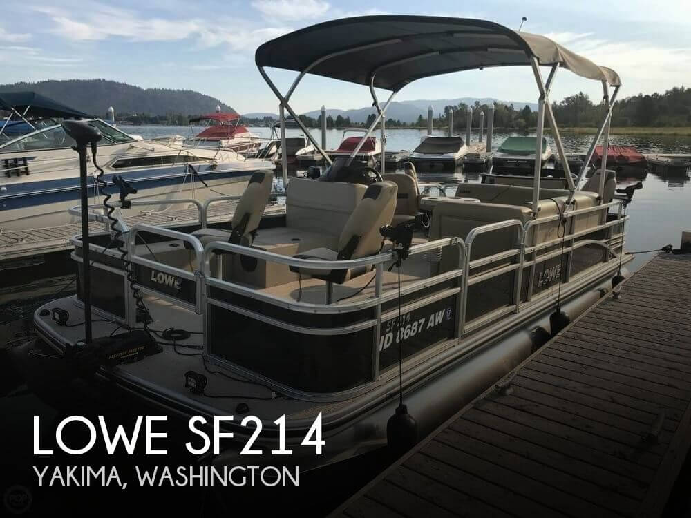 Used Lowe Pontoon Boats For Sale by owner | 2017 Lowe 21