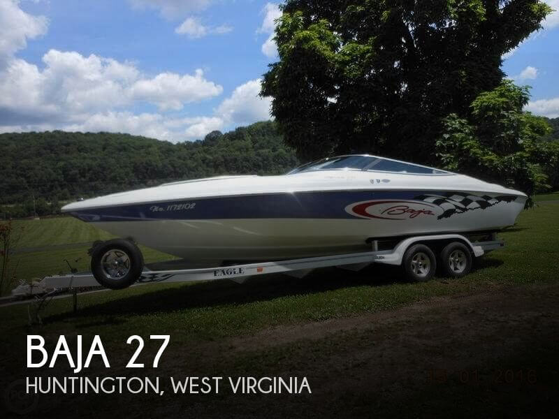 Used Boats For Sale in West Virginia by owner | 2001 Baja 27