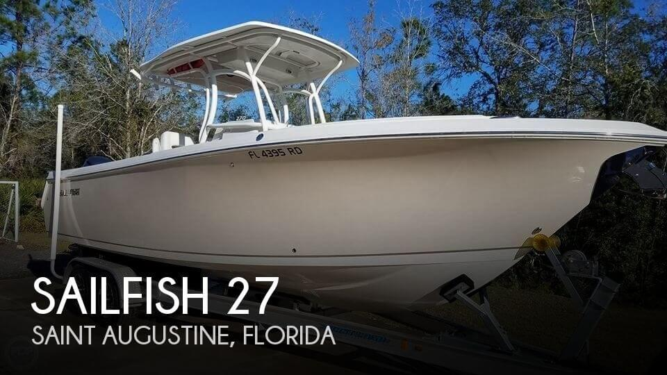 Used Boats For Sale in Jacksonville, Florida by owner | 2016 Sailfish 27