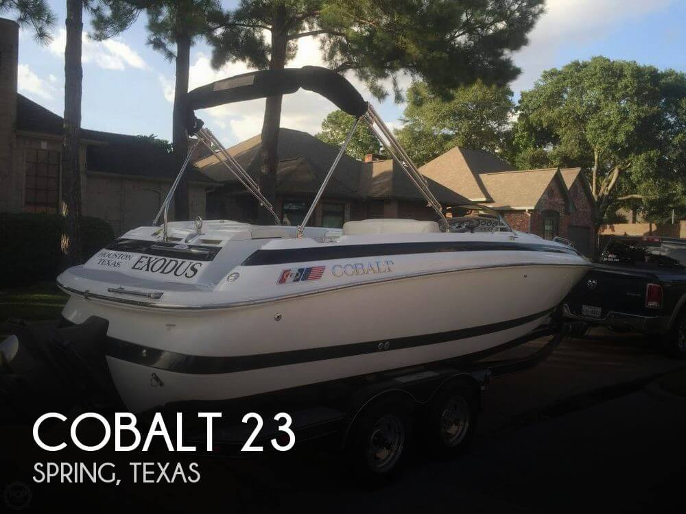 Used Ski Boats For Sale by owner | 1998 Cobalt 23