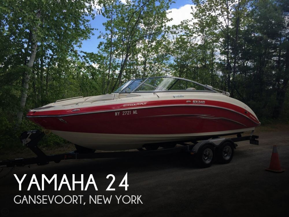 Used Boats For Sale in Albany, New York by owner | 2014 Yamaha 24