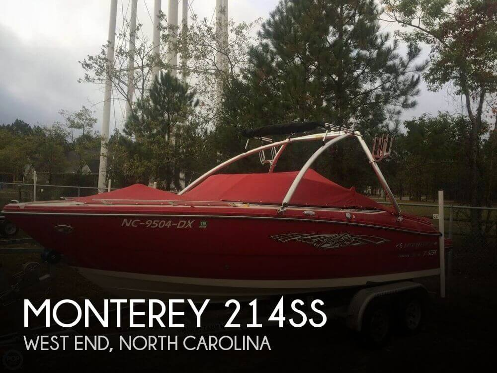 Used Boats For Sale in Durham, North Carolina by owner | 2013 Monterey 21