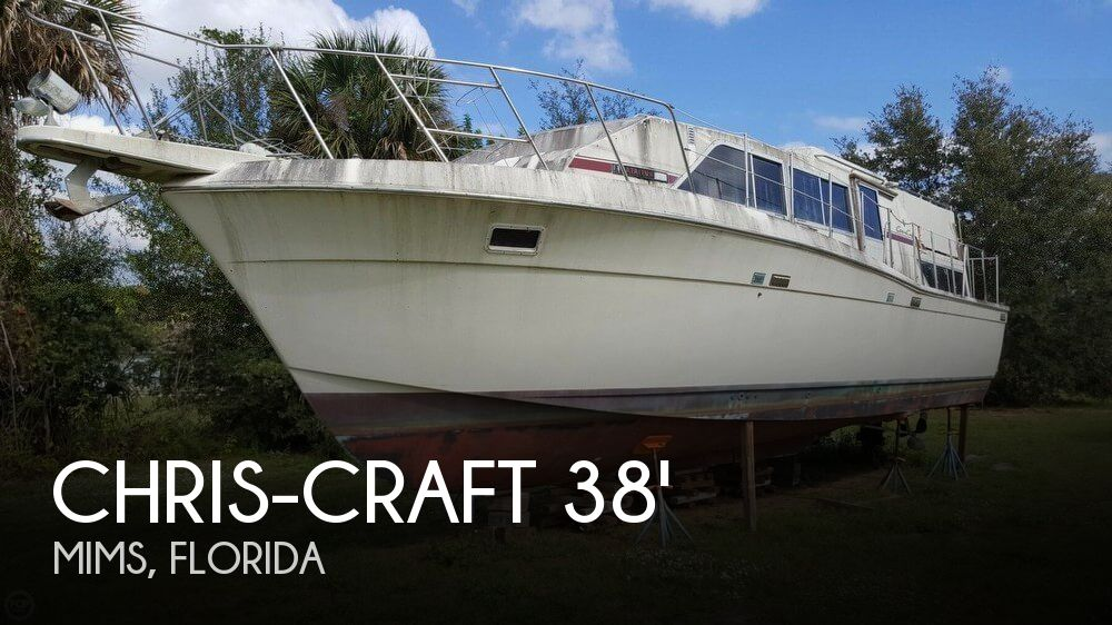1986 Chris Craft boat for sale, model of the boat is 381 Catalina & Image # 1 of 40