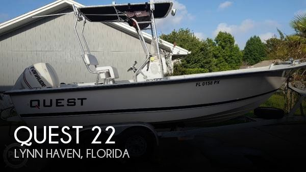 Used Quest Boats For Sale by owner | 1996 Quest 22