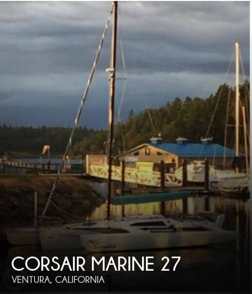 Used Boats For Sale in Santa Maria, California by owner | 1989 Corsair Marine 27